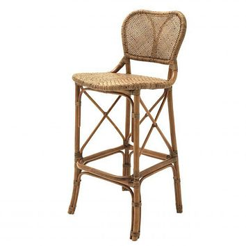 Rattan Bar Stool | Eichholtz Colony