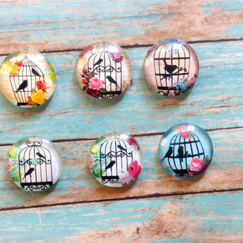 Drawer Cabinet Knobs Pull Set Of 6 Bird Cage Knobs Country Home Shabby Chic Decorative Knob Farmhouse Decor Country Kitchen Country Bathroom