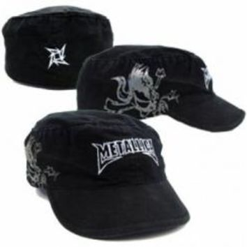 Metallica Military Hat - Scary Guy