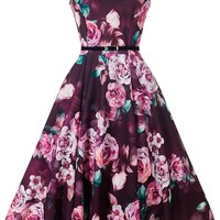 Hepburn Dress - Rose Blush