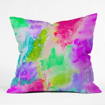 Rebecca Allen Safe And Sound Throw Pillow