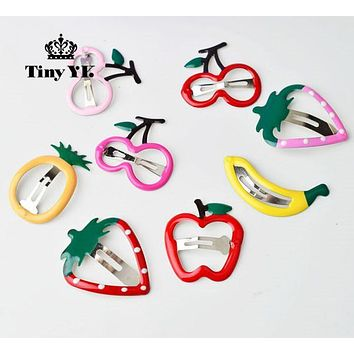 2 pcs/lot Lovely Frunt hair clips toddlers hairpin Cute kids Barrettes hairpin headband Hair Accessories