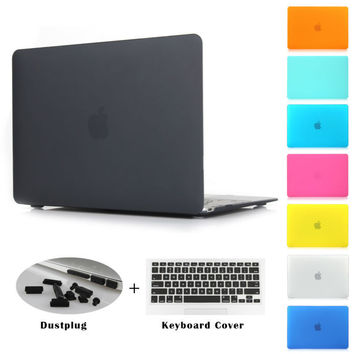 Rubber Hard Case Cover for Macbook Pro & More