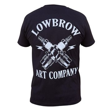 Lowbrow Art Company Spark Artwork Black T-shirt