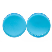 Glacier Blue Glass Plugs (3mm-25mm)