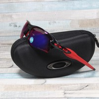 Oakley OO9295-08 Flak 2.0 Black Ink / Red Iridium Polarized Sunglasses