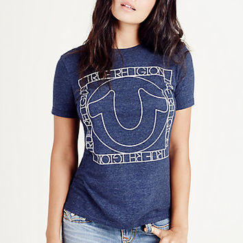 TR SQUARED WOMENS TEE