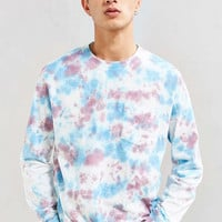 UO Dye Effect Long Sleeve Tee - Urban Outfitters