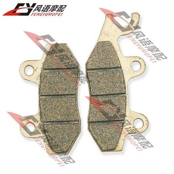 For Kawasaki KLX125 10-13 KX125 89-93 KDX200 93-94 front brake pads motorcycle parts