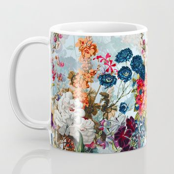 Summer Botanical Garden VIII Coffee Mug by burcukorkmazyurek