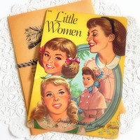 Vintage Little Women Book Pages. Paper Ephemera. Old Book Pages. Vintage Books. Paper Pack. Junk Journal Paper. Art Journal Kit. Mixed Media