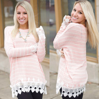 Happy Girl Top (Pink) - Piace Boutique