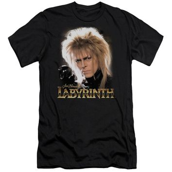 Labyrinth - Jareth Short Sleeve Adult 30/1 Shirt Officially Licensed T-Shirt