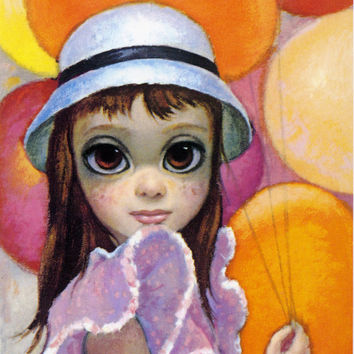 Big Eyes | Vintage Print Photo | 1963 AT THE FAIR | Margaret Keane | Walter Keane