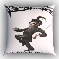 My Chemical Romance X0153 Zippered Pillows  Covers 16x16, 18x18, 20x20 Inches