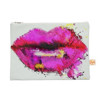 "Oriana Cordero ""Kiss Me"" Pink Lips Everything Bag"