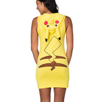 Pikachu Hooded Dress Adult Womens Costume – Spirit Halloween