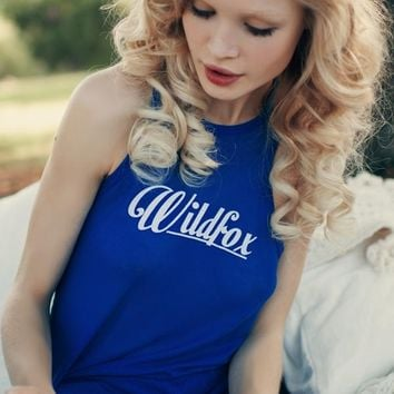 Wildfox Couture 60s Wildfox Island Tank in Nocturnal