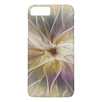 Floral Fantasy Pattern Abstract Fractal Art iPhone 7 Plus Case