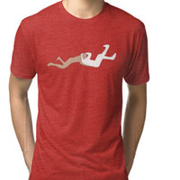 'Jumping Knock-out' T-Shirt by Squared-Circle