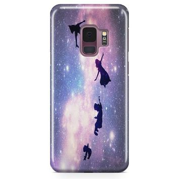 Disney Peter Pan Art Design Samsung Galaxy S9 Case | Casefantasy