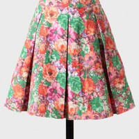 wild field denim skirt in pink at ShopRuche.com