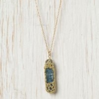 Sapphire Drop Pendant at Free People