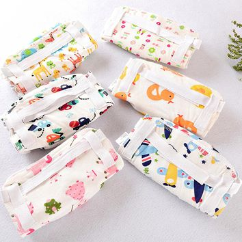 Diapers for newborns Baby Infant reusable nappies Printed Cloth Diapers Washable Fillet Nappy Pants for girls boys 0-3 years old