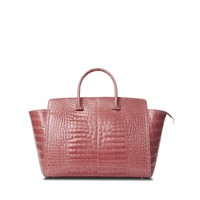 Tyler Alexandra Large Rose Alligator Caroline Tote - Shop Luxury Handbags | Editorialist