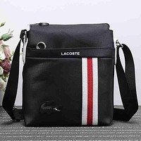 Lacoste Men Fashion Casual Crossbody Shoulder Bag Satchel