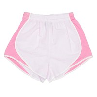 Shorties Shorts in Pink Seersucker by Lauren James - FINAL SALE