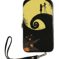 The Nightmare Before Christmas Jack And Sally Hill Galaxy S3 Phone Hinge Wallet