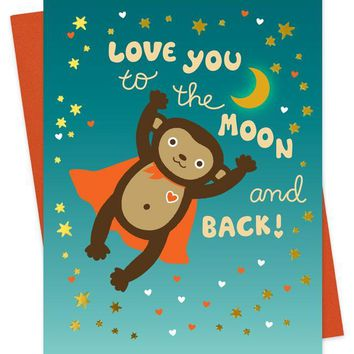 Super Monkey Card