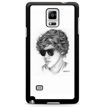 One Direction Harry Styles Art Pencil Note 4 Case