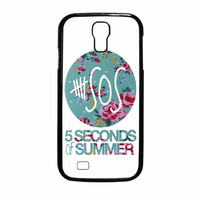 5 Seconds Of Summer Floral Pink Samsung Galaxy S4 Case