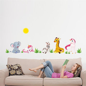 popular movie lovely my pony horse Wall Stickers for kids room decor x012. diy home decals animals cartoon mural art posters 5.0 SM6