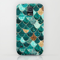 REALLY MERMAID Galaxy S5 Case by Monika Strigel