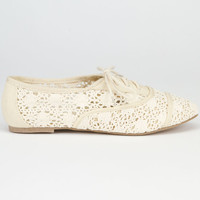 City Classified Joshua Womens Flats Beige  In Sizes