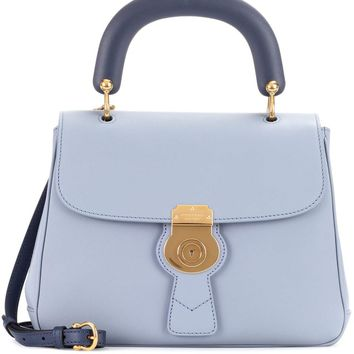 The Medium DK88 leather top handle bag