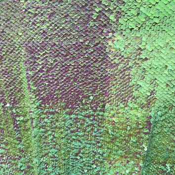 Green Iridescent Reflective Neon Lavender Square Sequins Backdrop - ABSC117