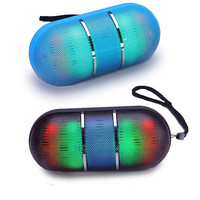 Dance With Me Portable Bluetooth Speaker With DISCO LED Lights