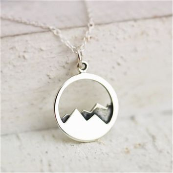Gift New Arrival Jewelry Shiny Stylish Accessory Simple Design Necklace [11192810823]