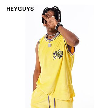 New Fashionable hip hop high quality loose vest men's fashion casual street tank top