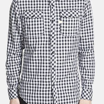 Men's G-Star Raw 'Landoh Murdo' Extra Trim Gingham Check Twill Shirt