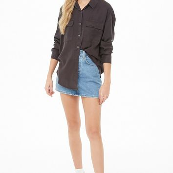 Drop-Shoulder Shirt