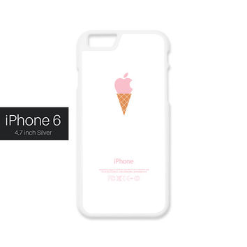 iPhone 6 Case - Pink ice cream cone, iPhone6 Case, Cases for iPhone6