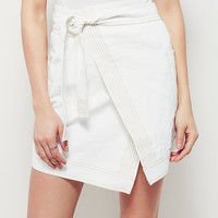 Free People Piece by Piece Mini Skirt