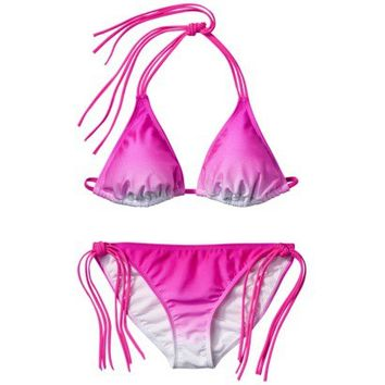 Xhilaration® Junior's 2-Piece Swimsuit -Pink