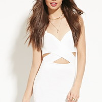 Crisscross-Waist Bodycon Dress