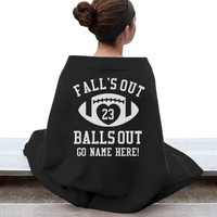 Fall's Out Footballs Out: Mom Means Business